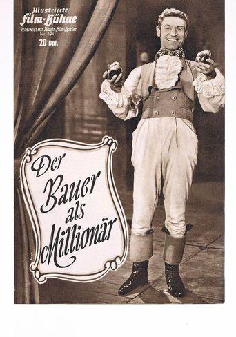 Der Bauer als Millionär Poster