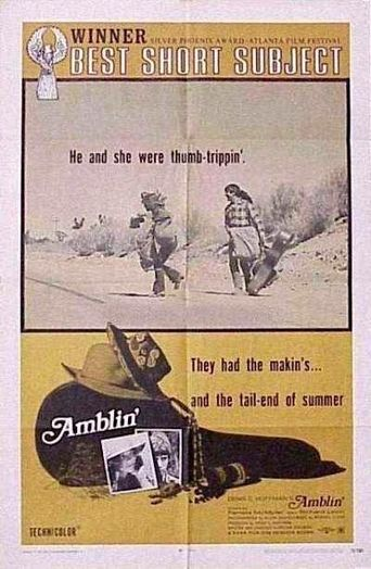 Amblin' Poster