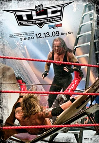 WWE TLC: Tables Ladders & Chairs 2009 Poster