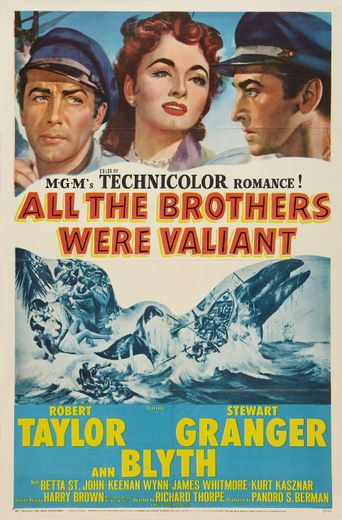 All the Brothers Were Valiant Poster