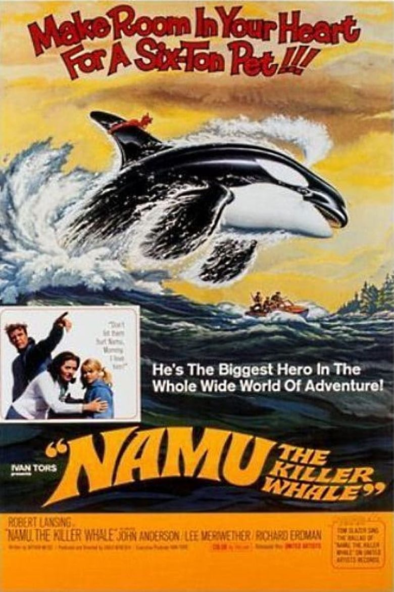 Namu, the Killer Whale Poster