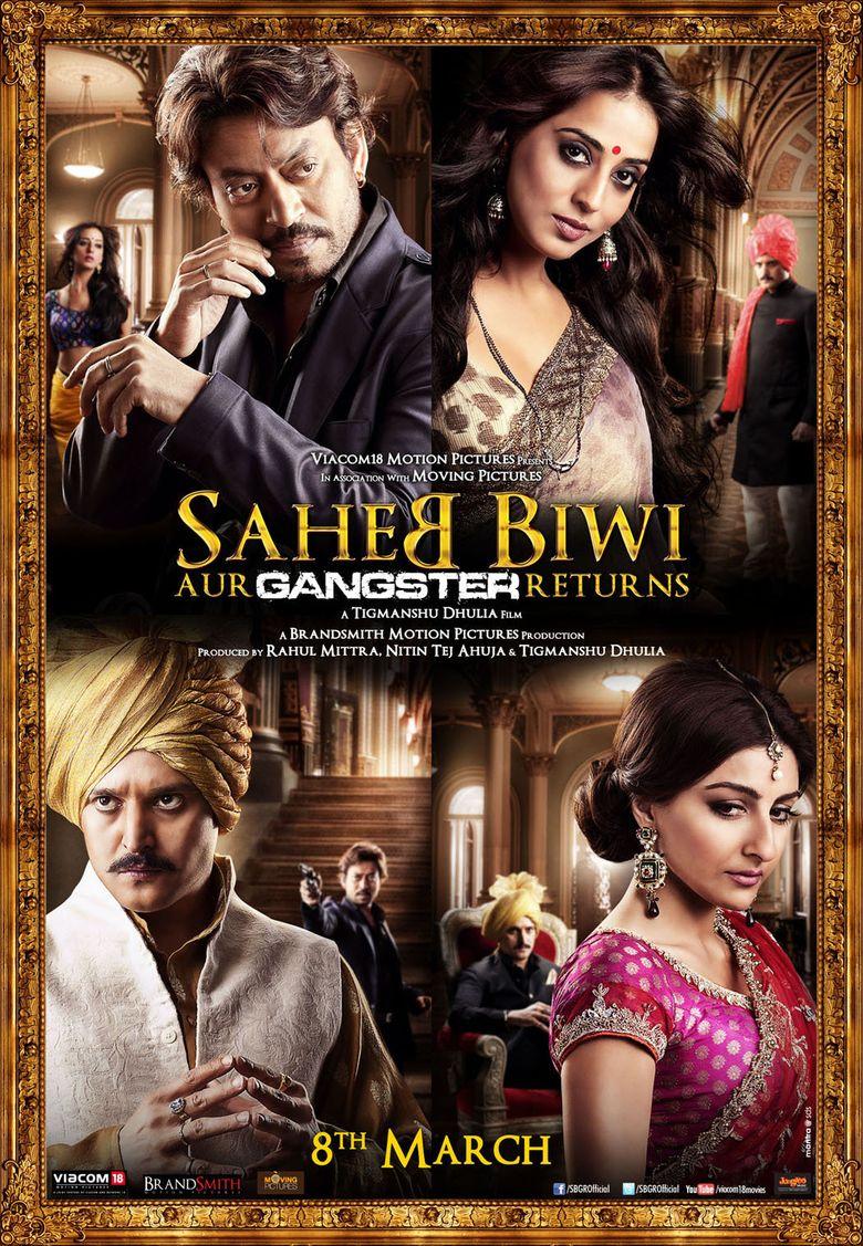 Saheb Biwi Aur Gangster Returns Poster