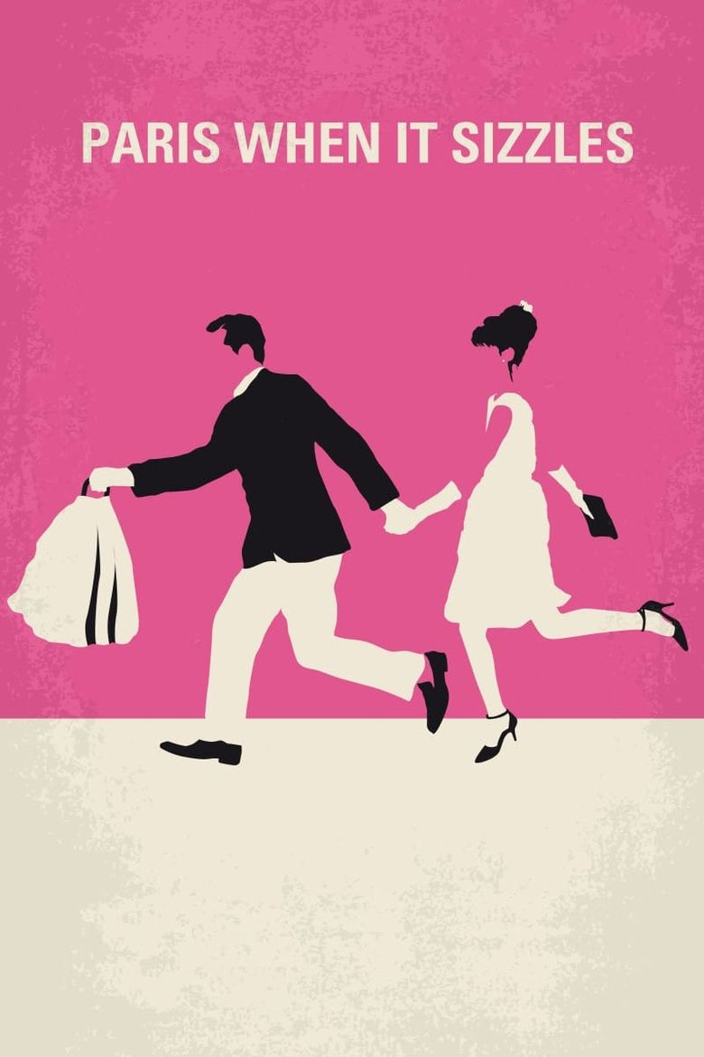 Paris When It Sizzles Poster