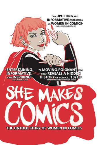 She Makes Comics Poster