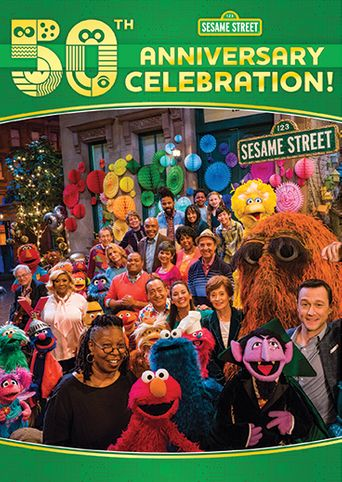 Sesame Street's 50th Anniversary Celebration Poster
