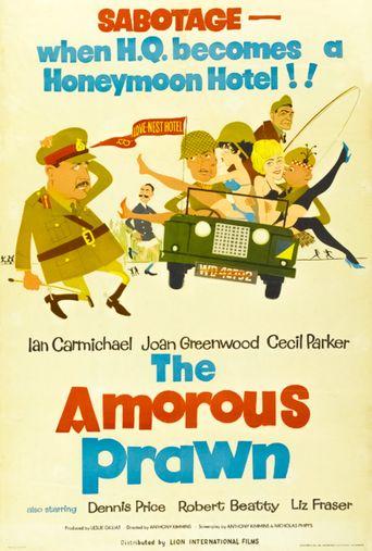 The Amorous Prawn Poster