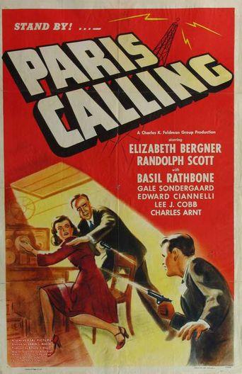 Paris Calling Poster