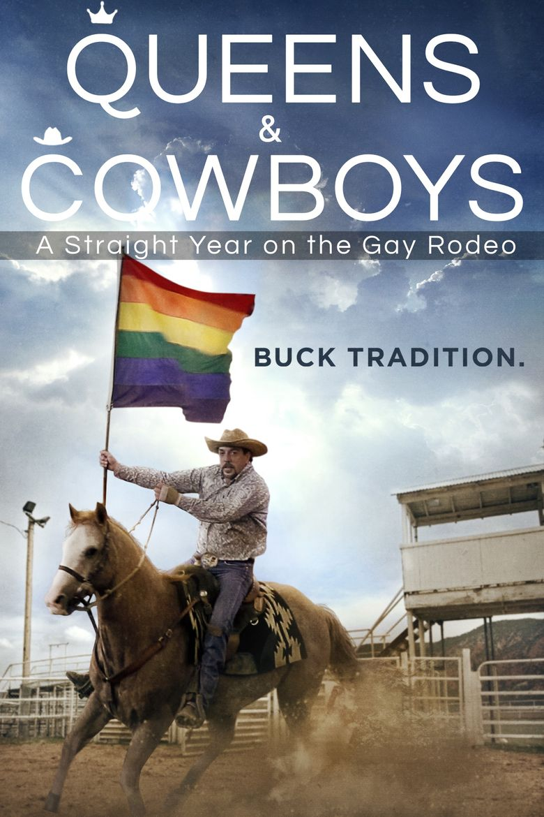 Queens and Cowboys: A Straight Year on the Gay Rodeo Poster