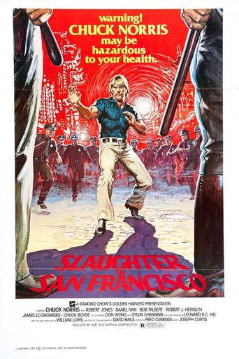 Slaughter in San Francisco Poster