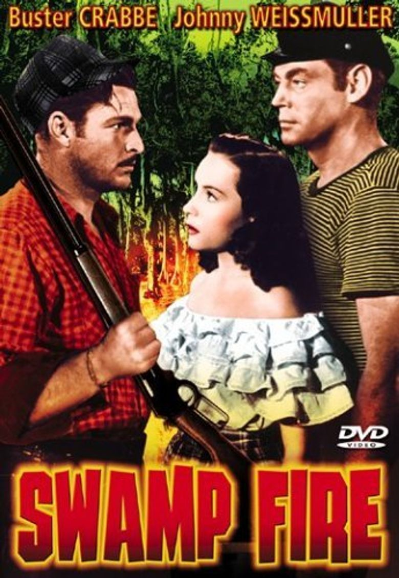 Swamp Fire Poster