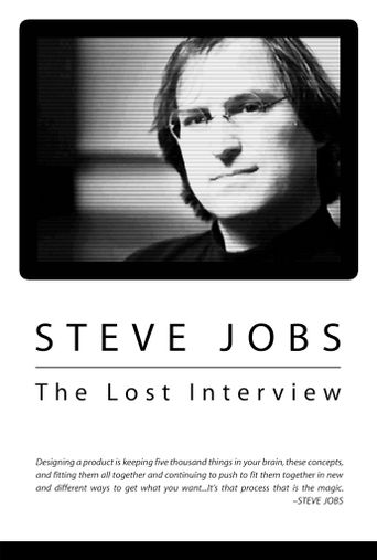 Steve Jobs: The Lost Interview Poster