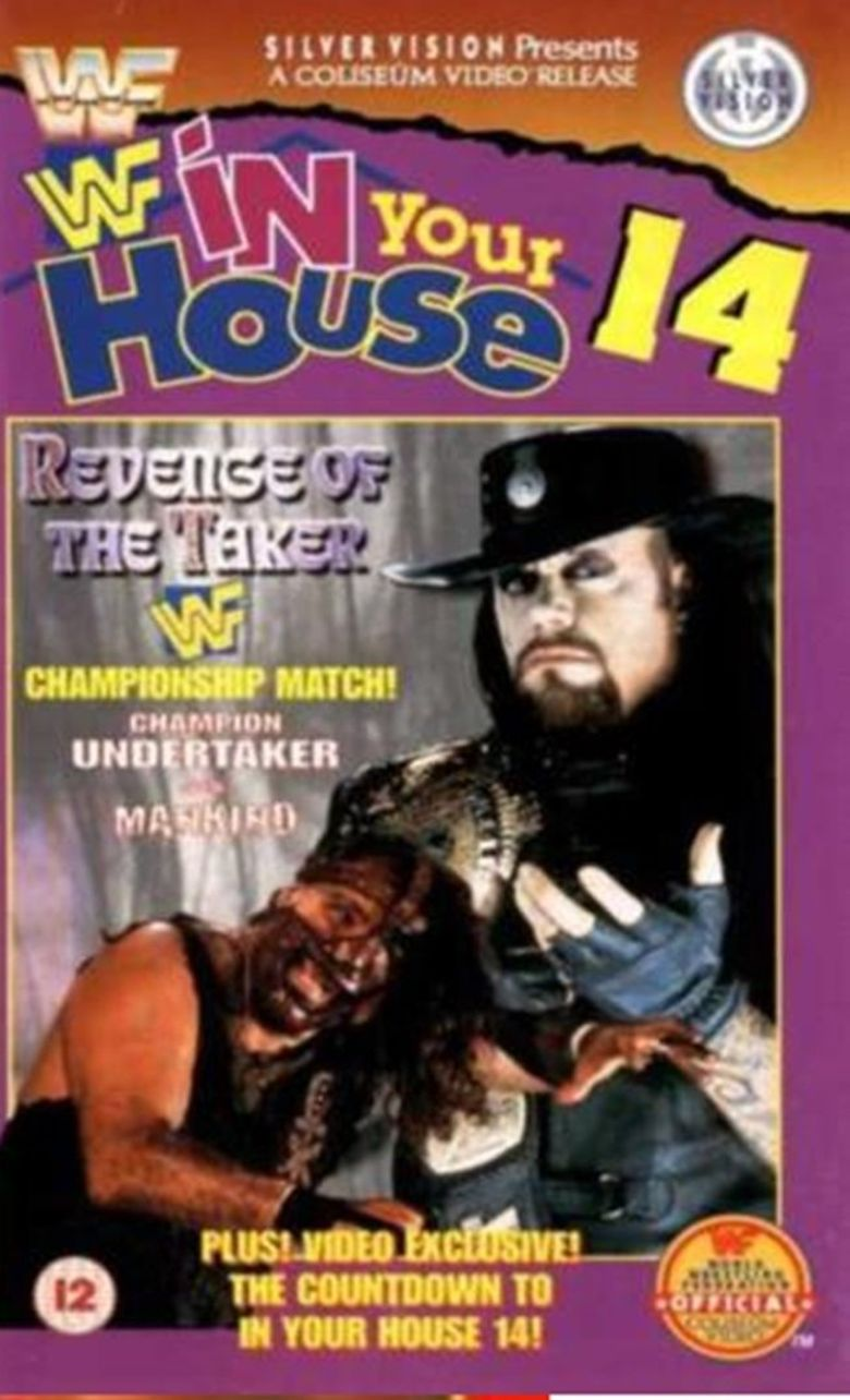 WWE In Your House 14: Revenge of the Taker Poster