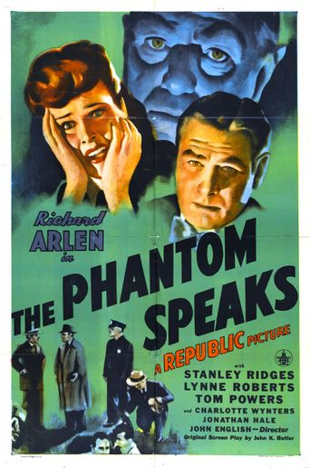 The Phantom Speaks Poster