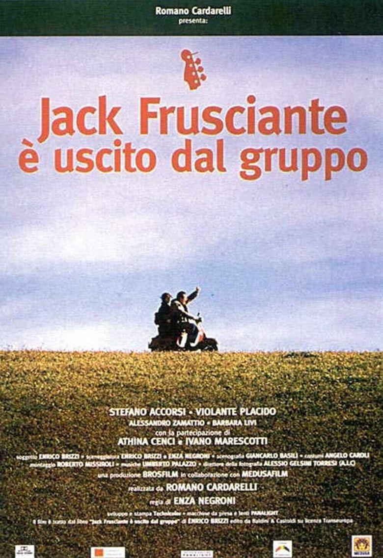 Jack Frusciante è uscito dal gruppo Poster