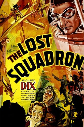 The Lost Squadron Poster