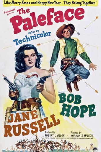 The Paleface Poster