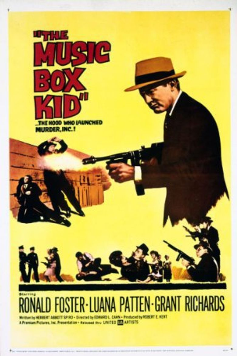 The Music Box Kid Poster