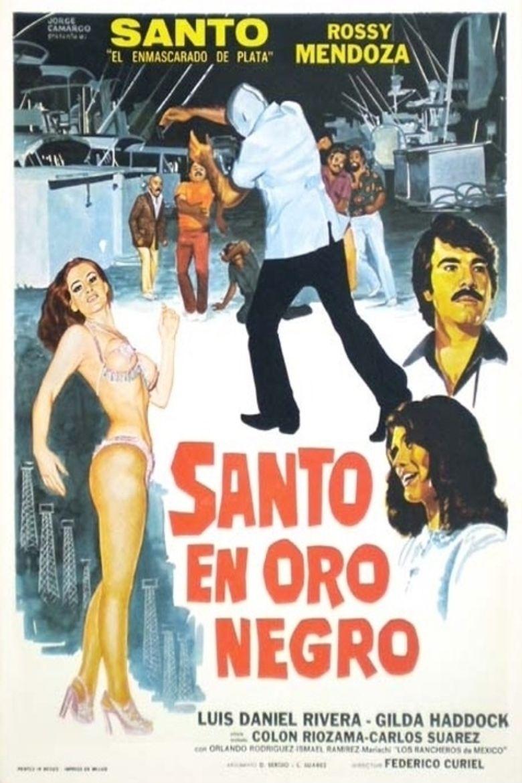 Night of San Juan: Santo in Black Gold Poster