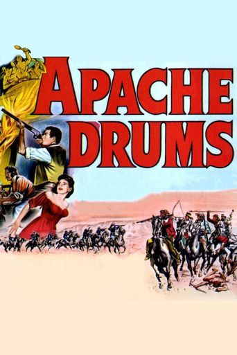 Apache Drums Poster