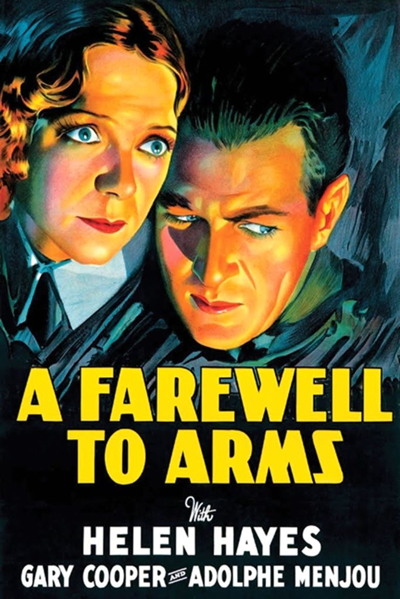 A Farewell to Arms Poster