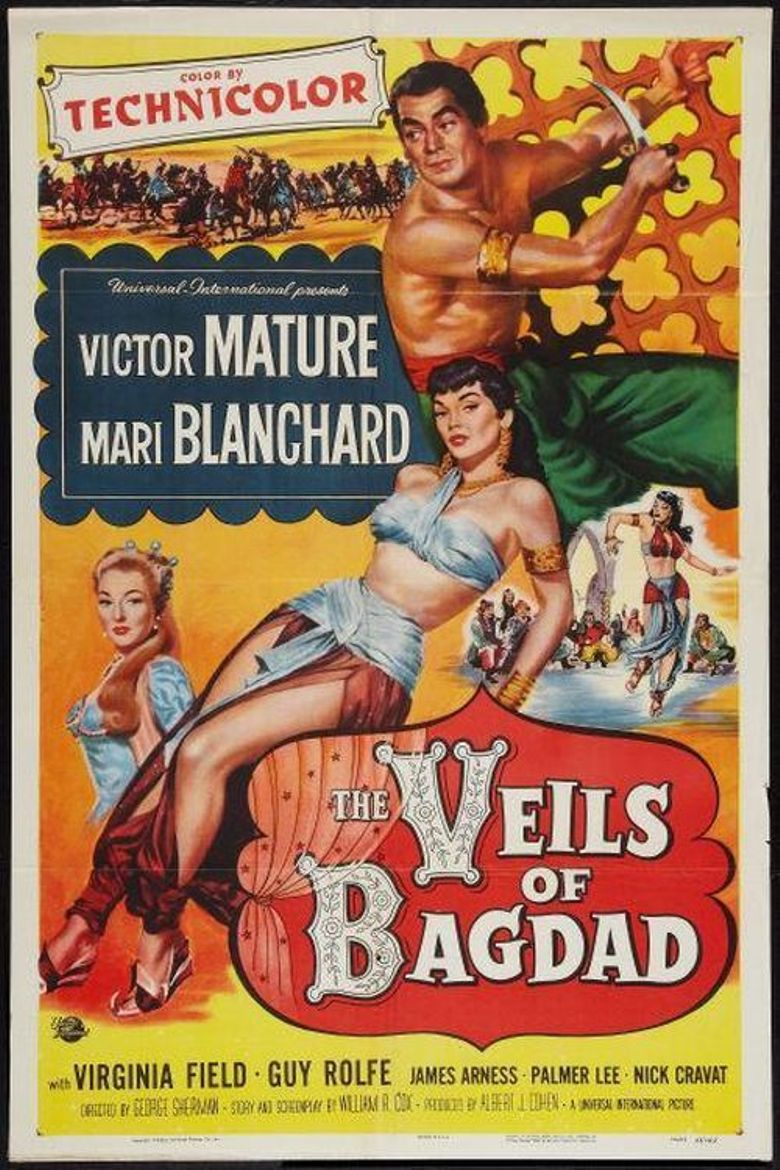 The Veils of Bagdad Poster