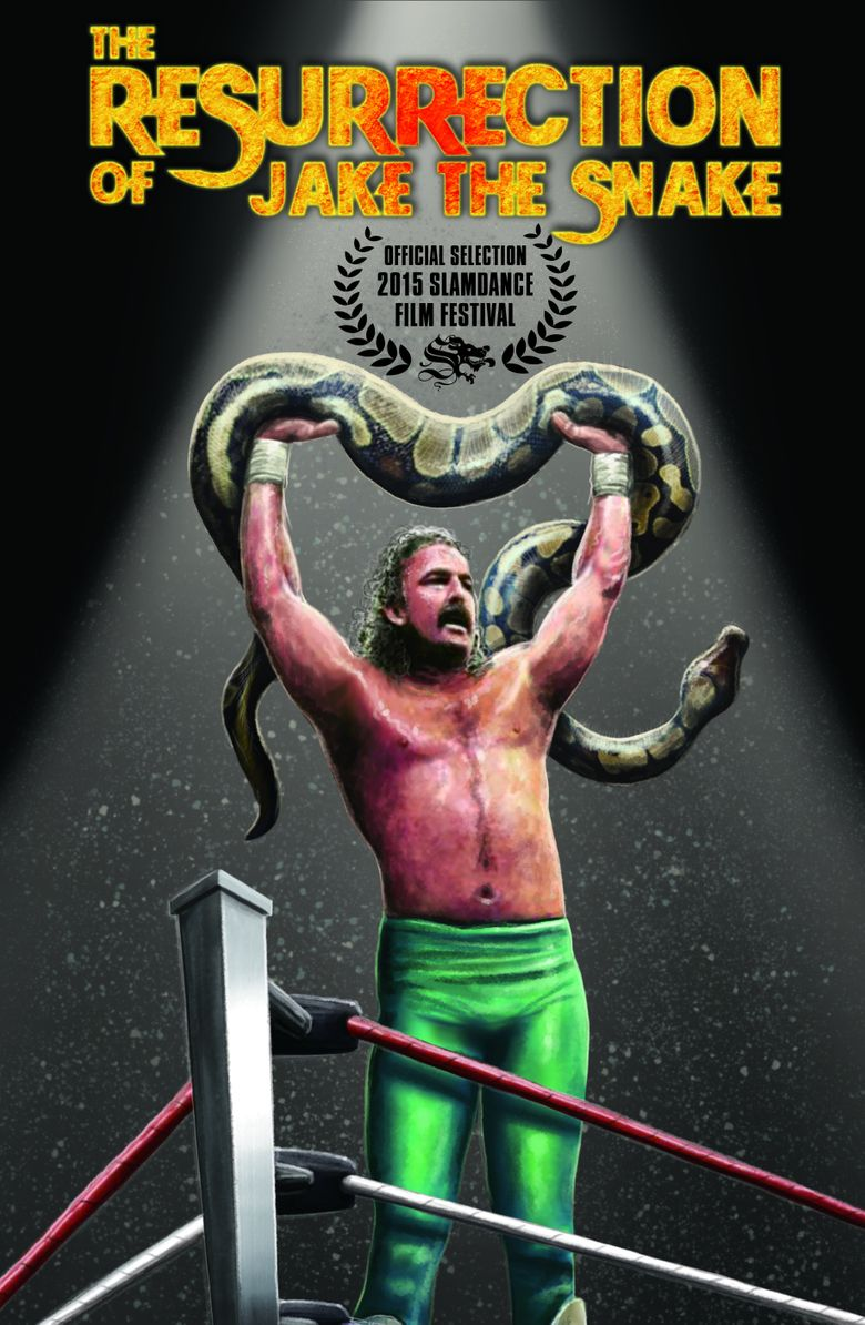 The Resurrection of Jake The Snake Poster