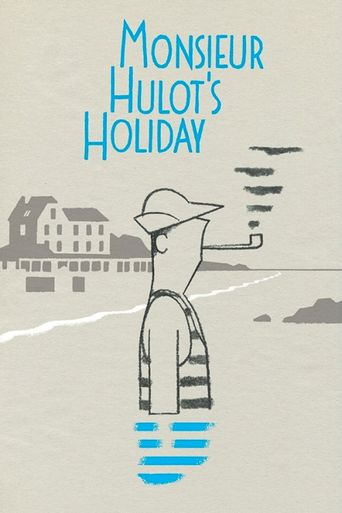 Monsieur Hulot's Holiday Poster