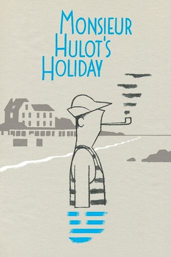 Monsieur Hulot's Holiday Poster