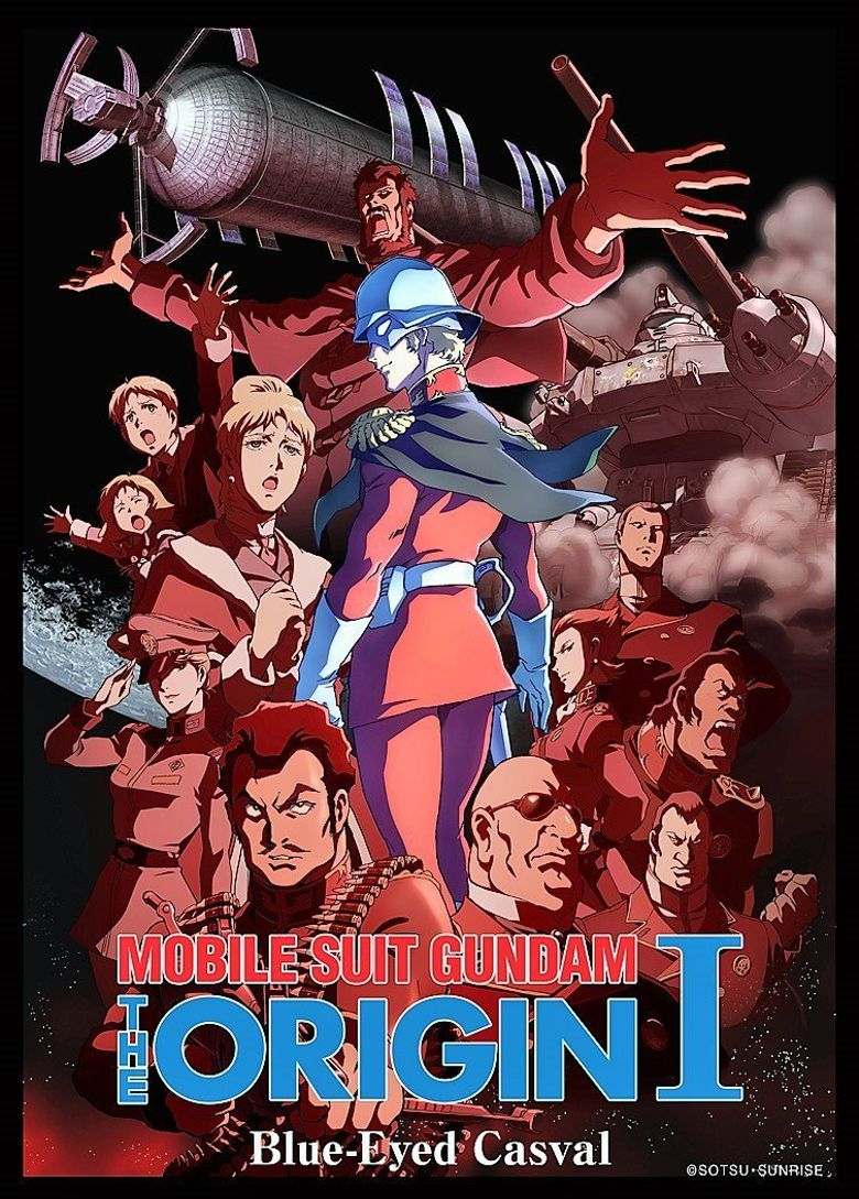 Mobile Suit Gundam: The Origin I - Blue-Eyed Casval Poster
