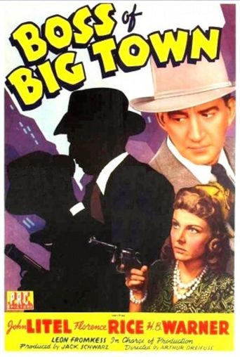 The Boss of Big Town Poster