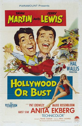 Hollywood or Bust Poster