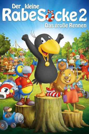 Raven the Little Rascal - The Big Race Poster