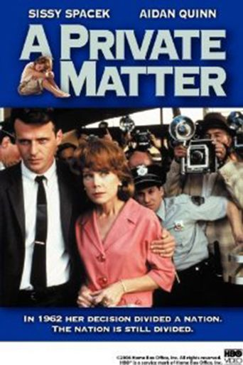 A Private Matter Poster