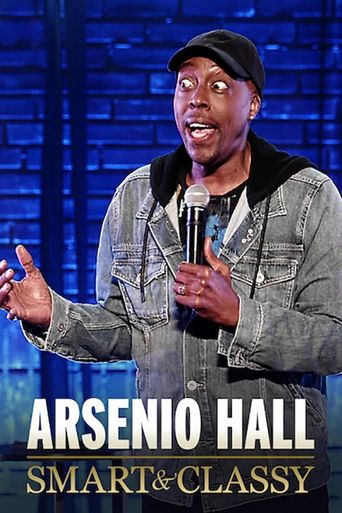 Arsenio Hall: Smart and Classy Poster