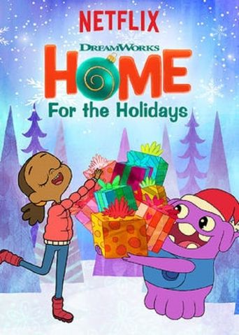 DreamWorks Home: For the Holidays Poster
