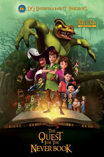 Peter Pan: The Quest for the Never Book Poster