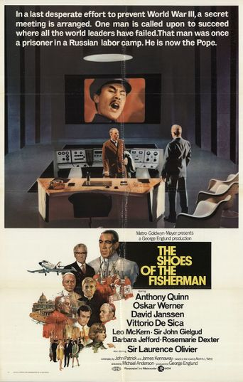 The Shoes of the Fisherman Poster