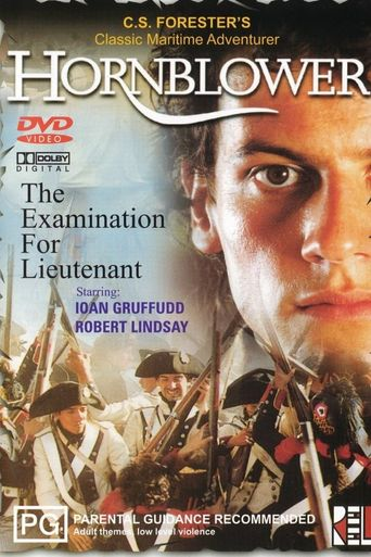 Hornblower: The Examination for Lieutenant Poster