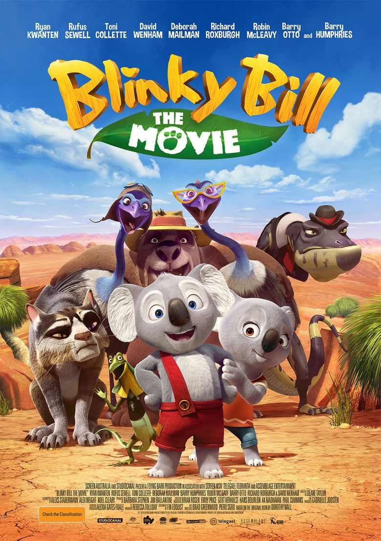 Blinky Bill the Movie Poster