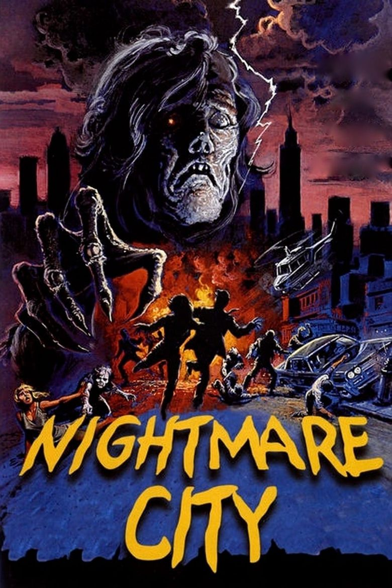 Nightmare City Poster