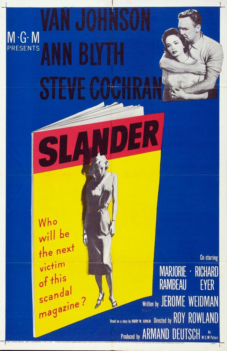 Slander Poster