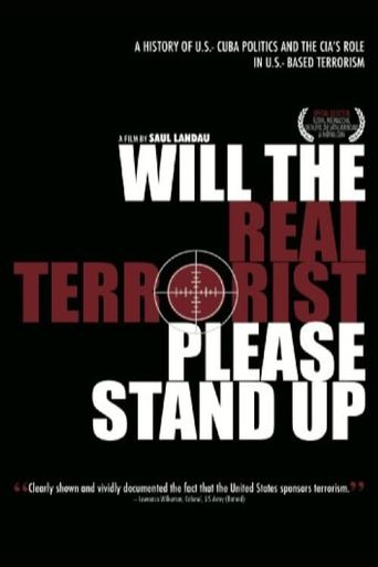 Will the Real Terrorist Please Stand Up Poster