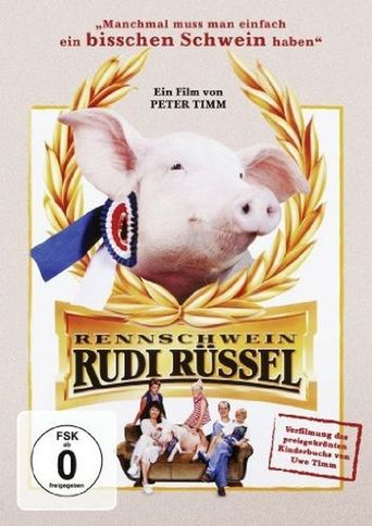 Rudy, the Racing Pig Poster