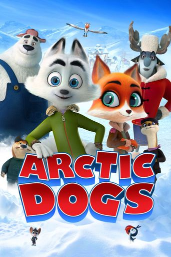 Arctic Dogs Poster