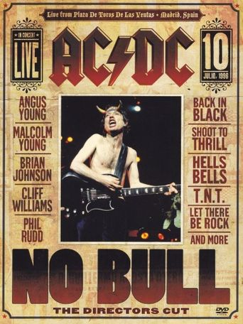 AC/DC: No Bull Poster