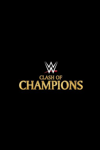 WWE Clash of Champions 2019 Poster