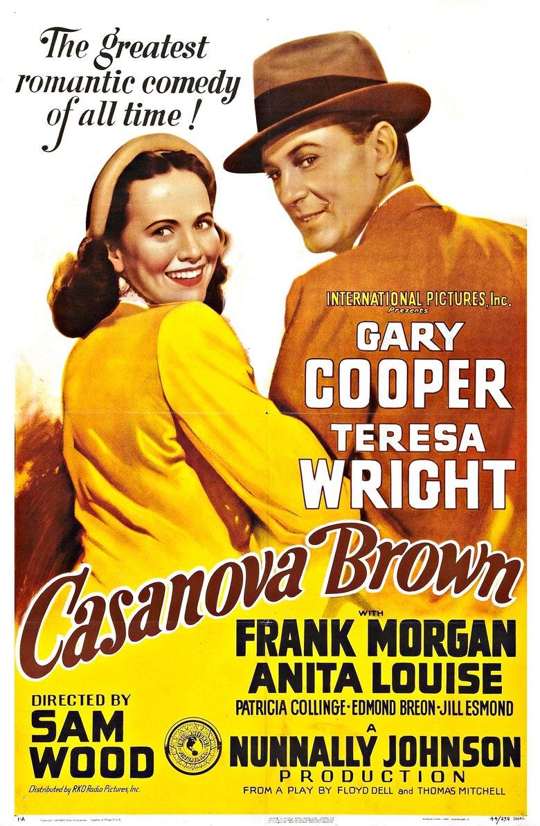 Casanova Brown Poster