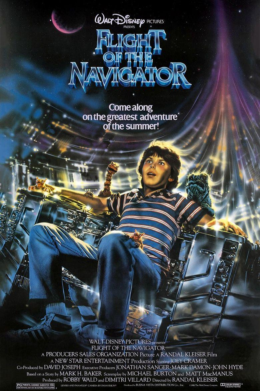 Flight of the Navigator Poster