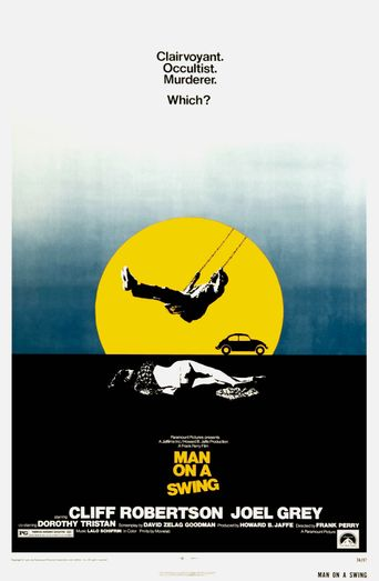 Man on a Swing Poster