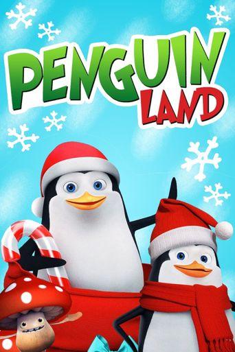 Penguin Land Poster